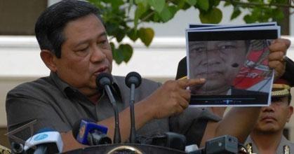 Pidato SBY setelah Peristiwa pengeboman