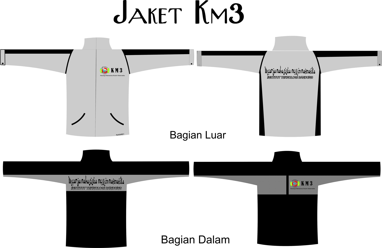 Desain Jaket Sendiri Desain Jaket Km3 Baru Bahan