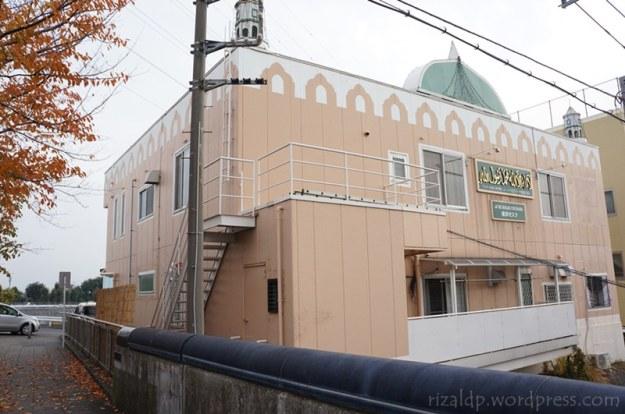 Masjid Jami Yokohama, menjelang sholat Jumat