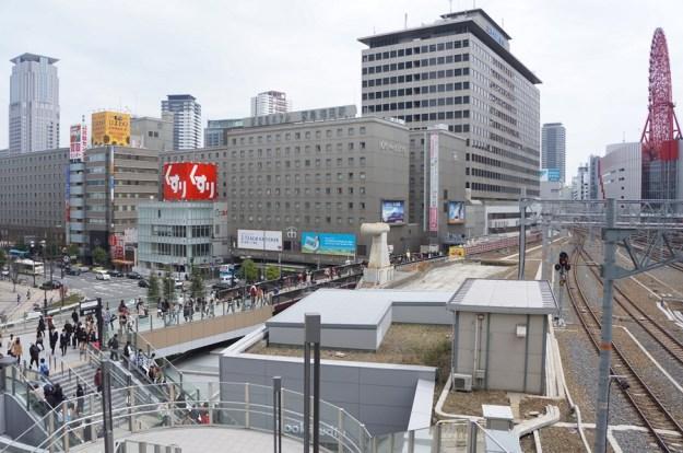 Osaka Station, kebersihannya poool!