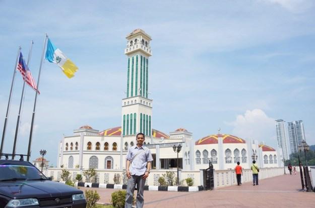 Masjid terapung Penang, Malaysia