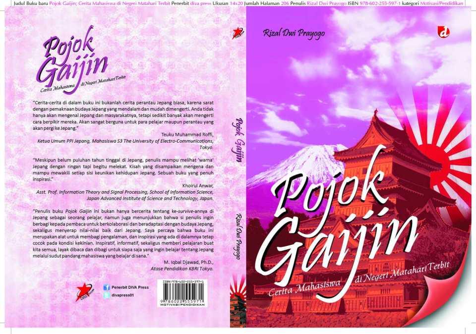 "Cover buku ""Pojok Gaijin"""
